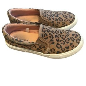 Cat & Jack Leopard Slip On Shoes
